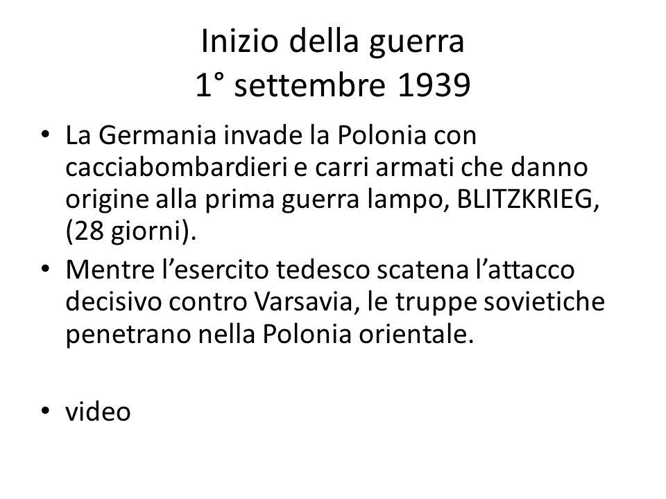 25 aprile 1945 Insurrezione generale partigiana che libera le città dellItalia settentrionale.