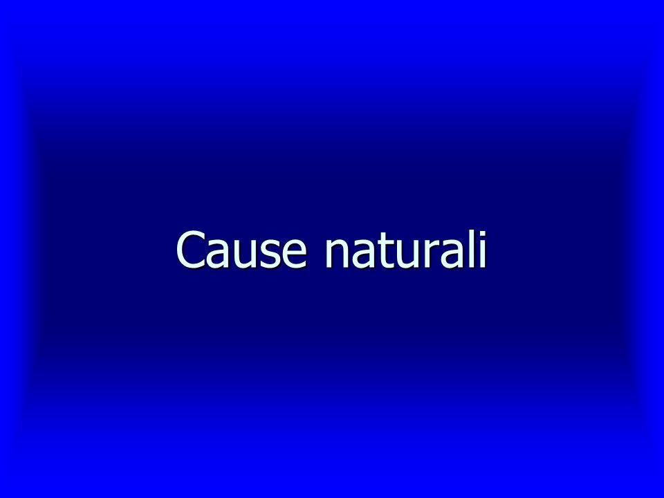 Cause naturali