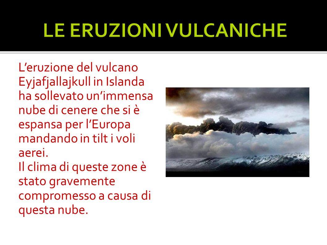 Leruzione del vulcano Eyjafjallajkull in Islanda ha sollevato unimmensa nube di cenere che si è espansa per lEuropa mandando in tilt i voli aerei. Il