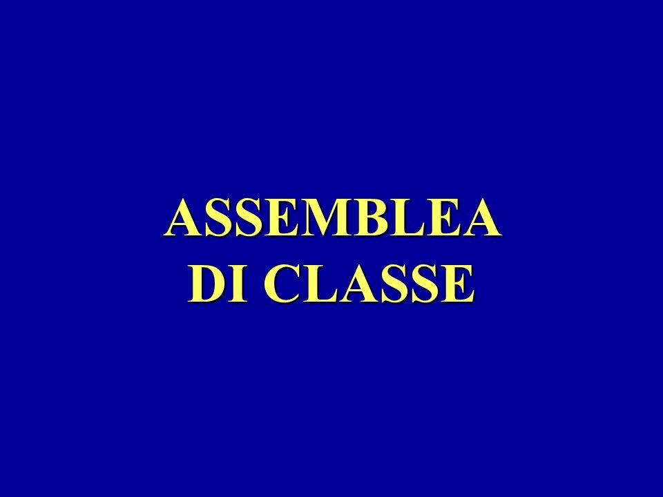 ASSEMBLEA DI CLASSE