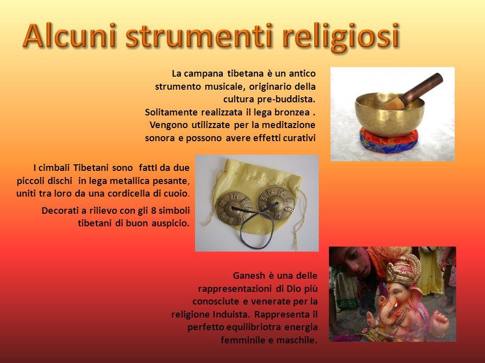La campana tibetana è un antico strumento musicale, originario della cultura pre-buddista. Solitamente realizzata il lega bronzea. Vengono utilizzate