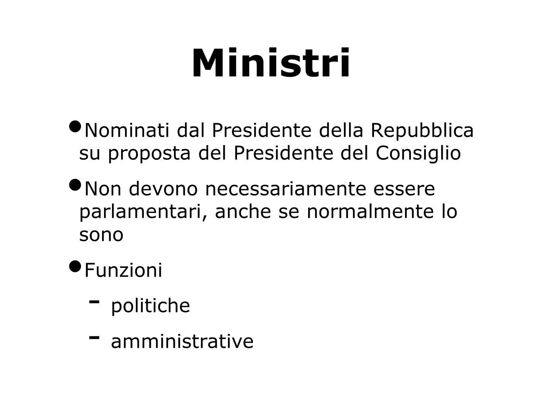 Decreto legislativo Una legge del Parlamento (legge – delega) indica criteri, tempi, oggetto del decreto legislativo.