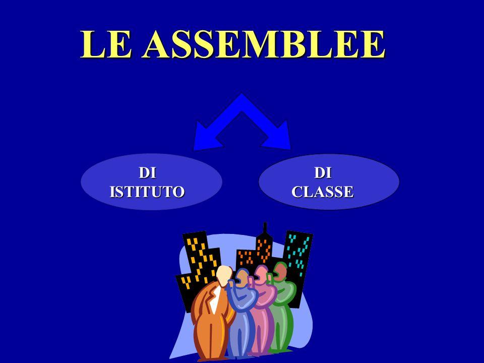 LASSEMBLEA DI CLASSE viene autorizzata dalla presidenza sul registro di classe REGISTRO DI CLASSE MARTEDI 2 –10 ASSEMBLEA DALLE 9.35 ALLE 10.25