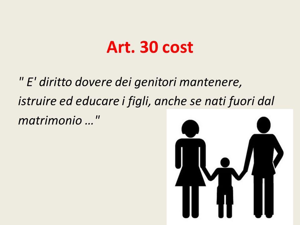 Art. 30 cost