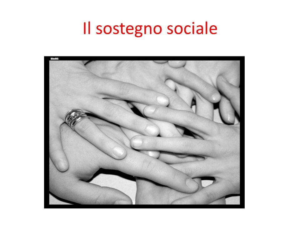 Il sostegno sociale