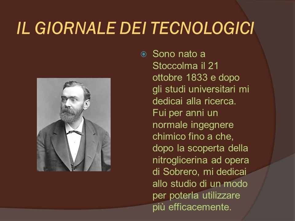 IL GIORNALE DEI TECNOLOGICI Molto curioso..mi spieghi:a che cosa portò questa scoperta di Sobrero?