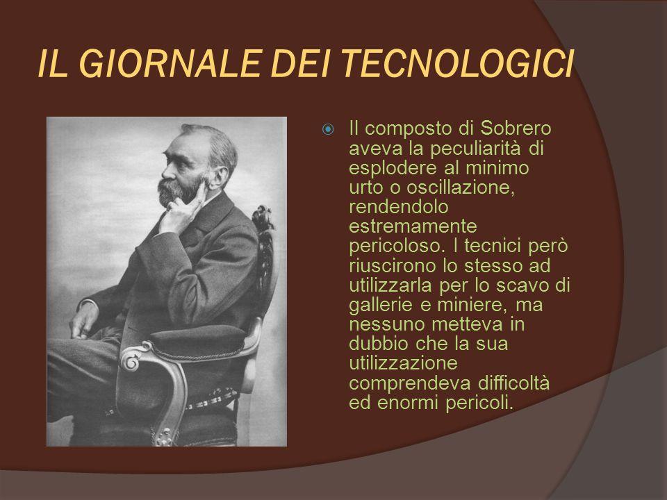 IL GIORNALE DEI TECNOLOGICI E nel 1866 che cosa successe?