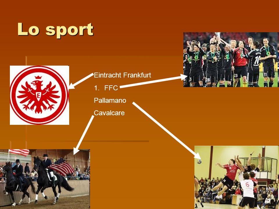 Lo sport Eintracht Frankfurt 1.FFC Pallamano Cavalcare