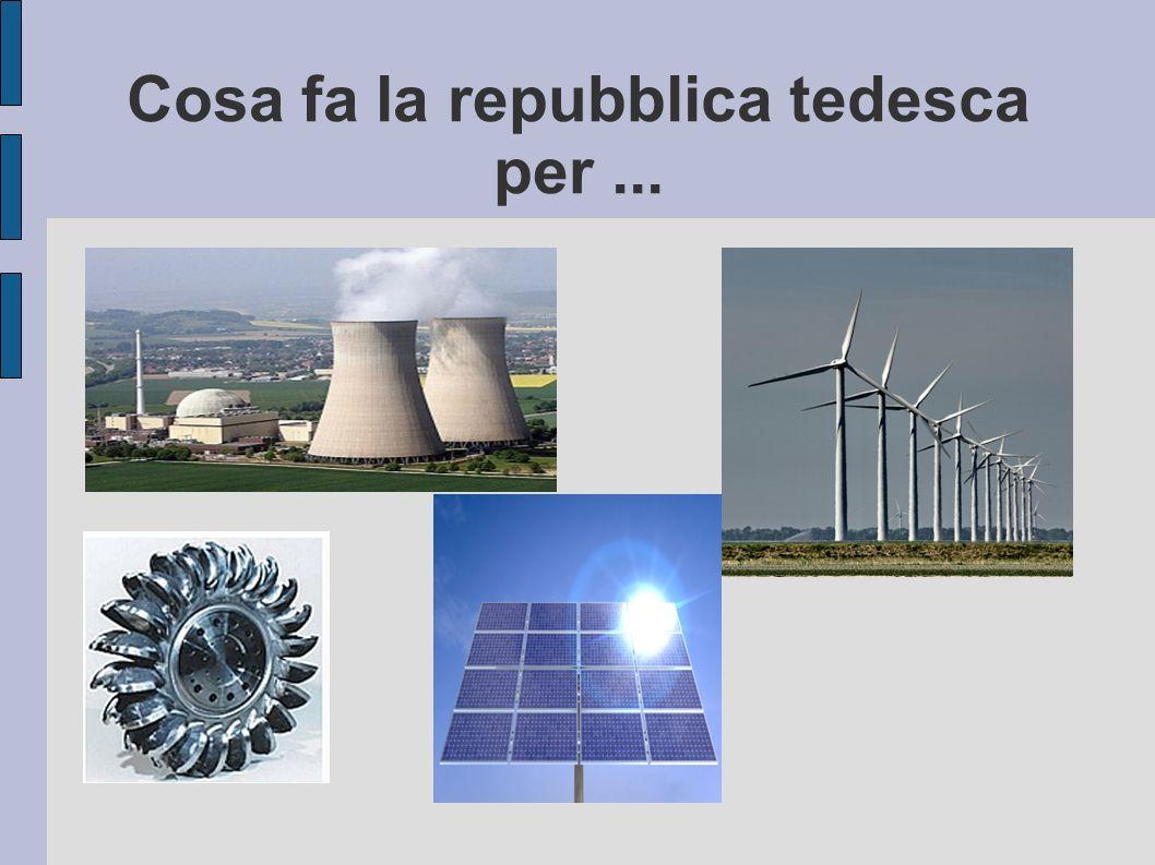 Indice L´energia nucleare L´energia eolica L´energia idroelettrica L´energia solare Fonti