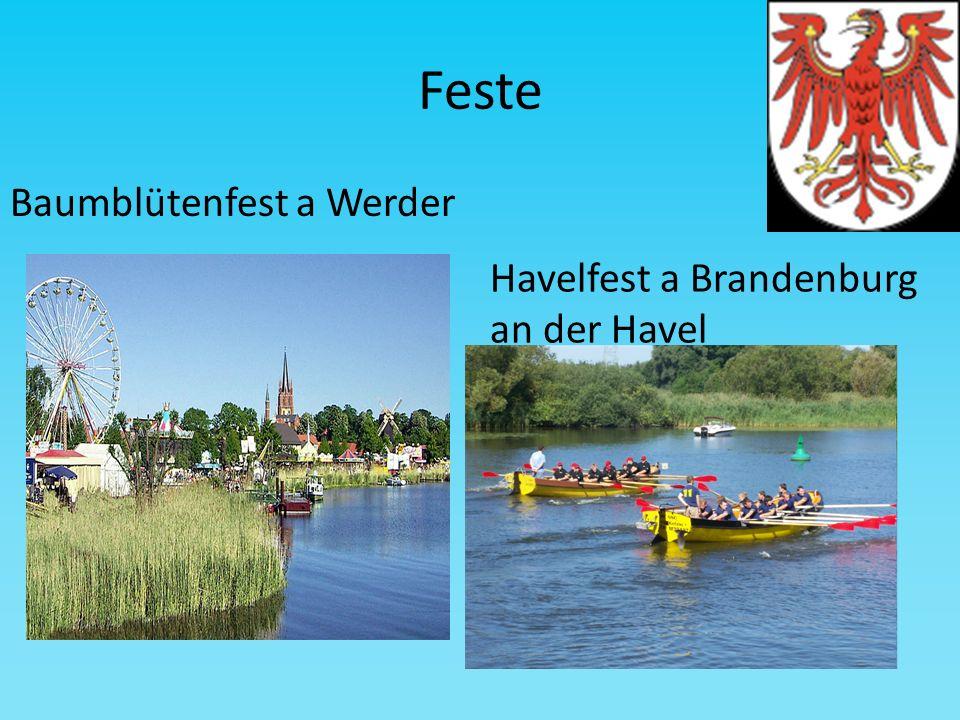 Feste Baumblütenfest a Werder Havelfest a Brandenburg an der Havel