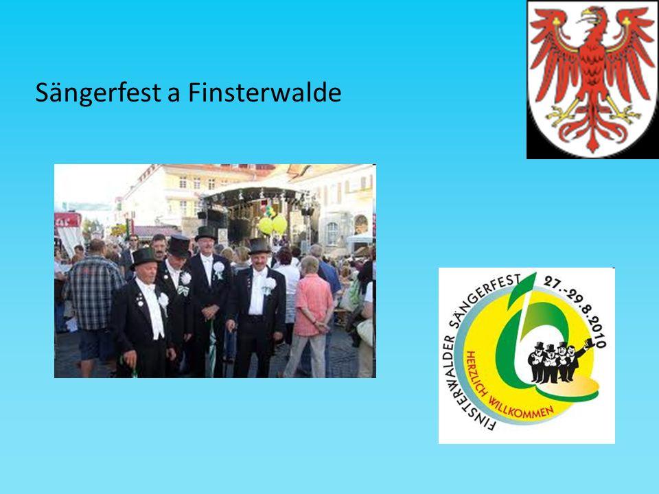 Sängerfest a Finsterwalde