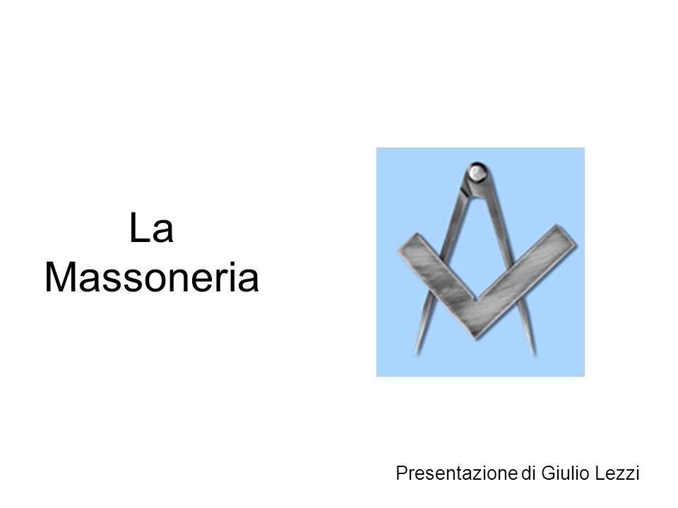 La Massoneria Presentazione di Giulio Lezzi