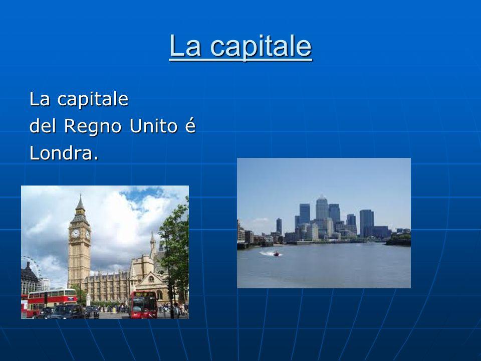 La capitale del Regno Unito é Londra.