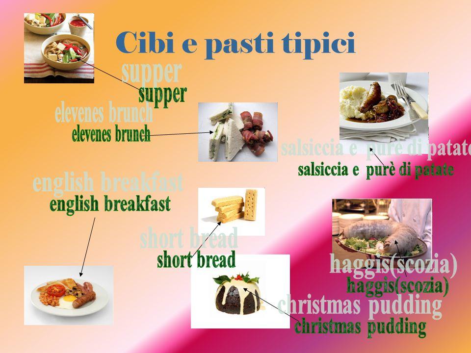 Cibi e pasti tipici