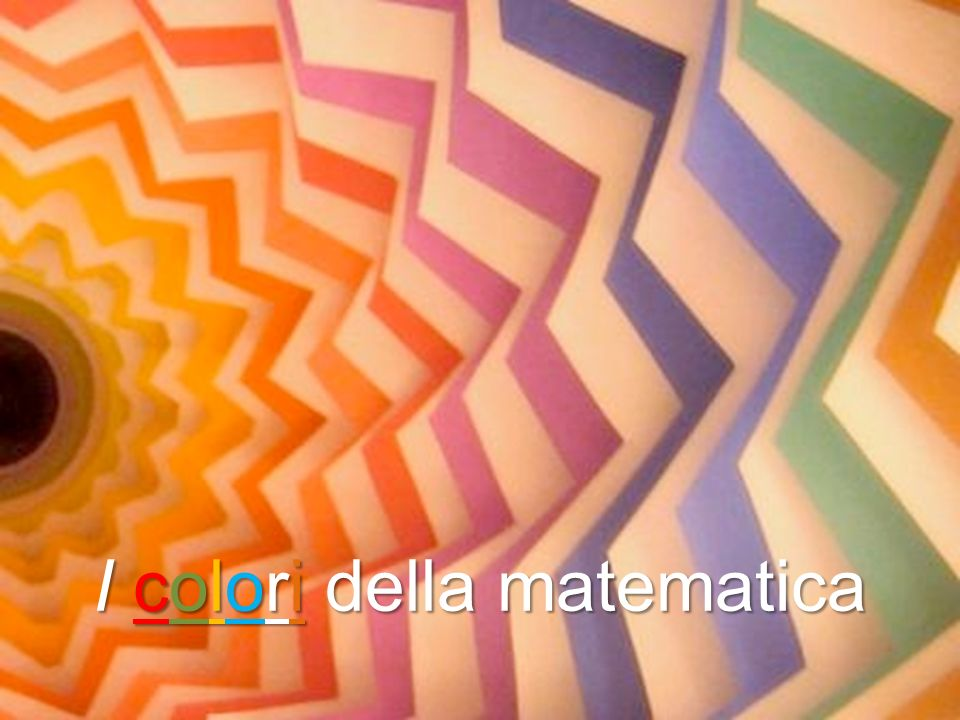 Icoloridellamatematica I colori della matematica