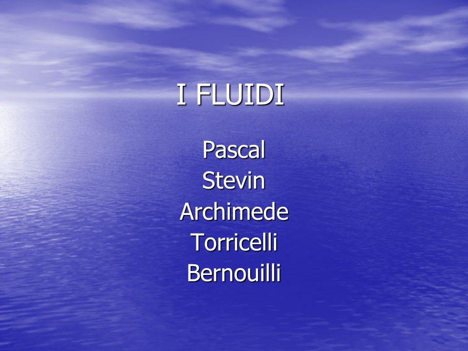 Galleggiamento F A = fluido g V i La forza di Archimede deve essere uguale al peso del corpo immerso nel fluido.