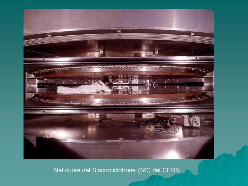 Nel cuore del Sincrociclotrone (SC) del CERN