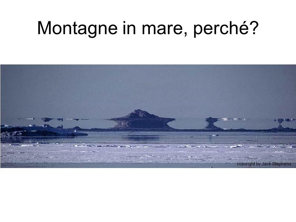 Montagne in mare, perché?