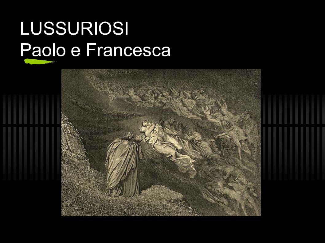 GOLOSI canto VI La piova etterna e Cerbero (vv.1-33) Ciacco e le domande di Dante (vv.