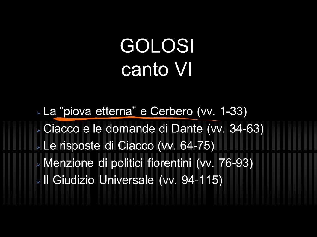 GOLOSI Ciacco