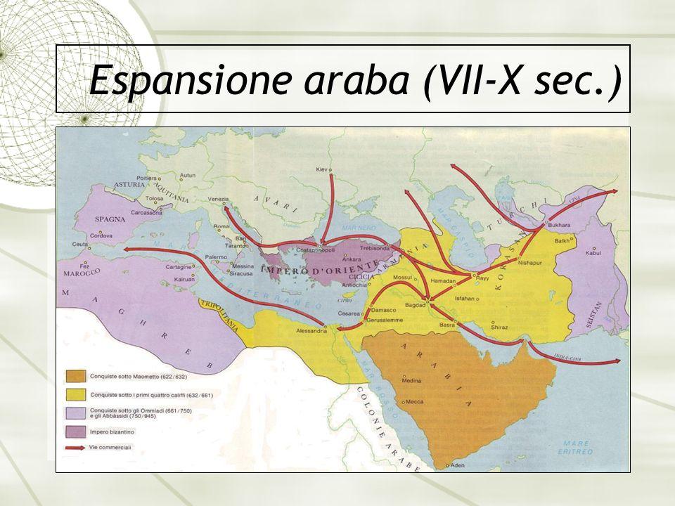 Espansione araba (VII-X sec.)