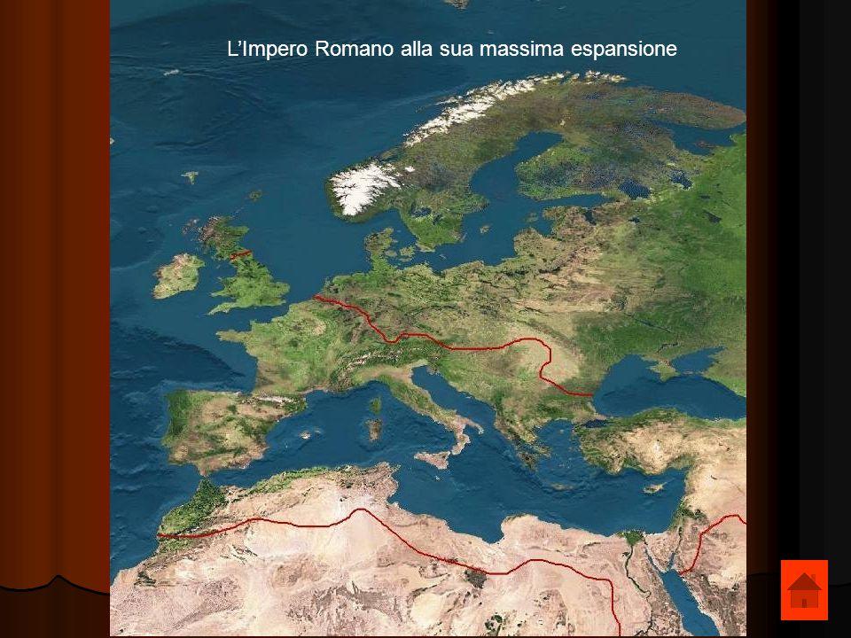 LImpero Romano alla sua massima espansione