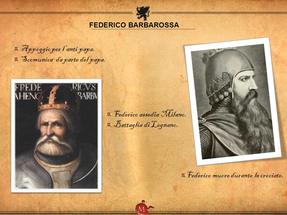 LE CROCIATE Seconda crociata: Conquista di Edessa da parte dei Turchi.