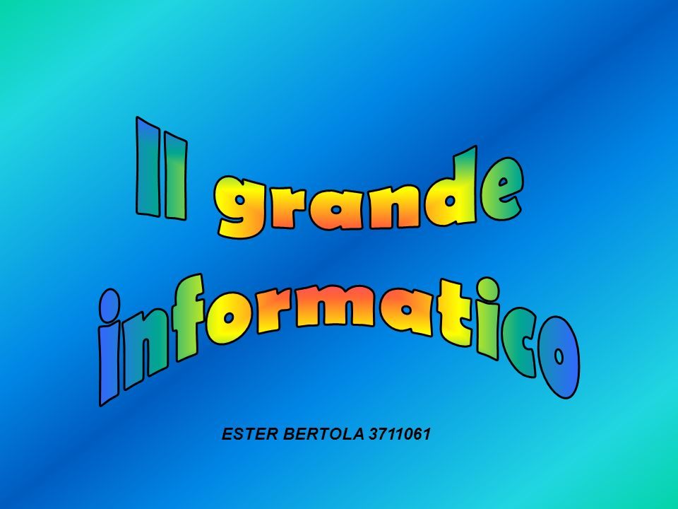 Perché negli anni 80 decise di introdurre il Logo 3D.