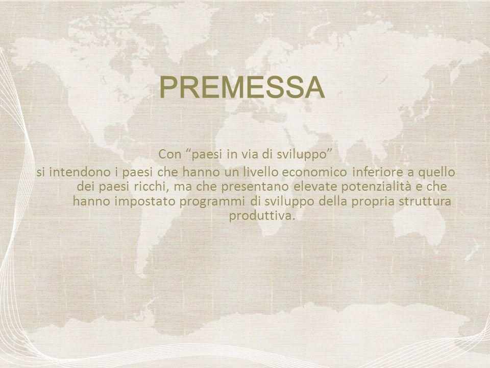 Si considerano come facenti parte del Sud del mondo, tutta lAfrica, lAmerica latina, lAmerica centrale, lIndia, il sud-est asiatico e molti paesi del medio ed estremo Oriente.