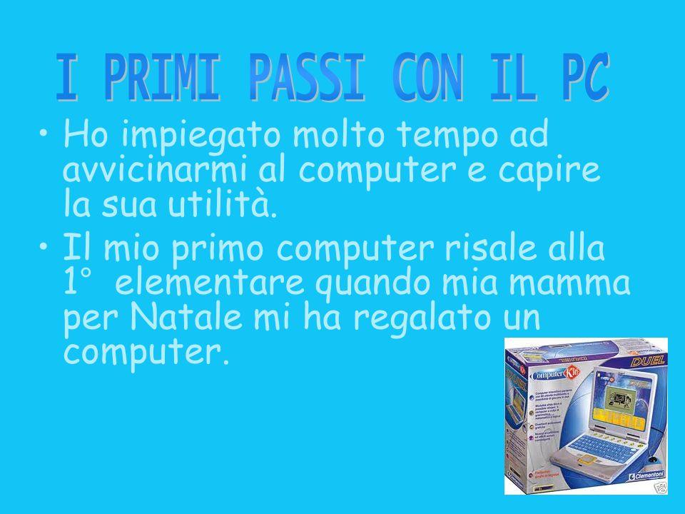 Oggi nelle scuole è possibile fare un corso (ECDL), e ottenere Patente europea di guida del computer.