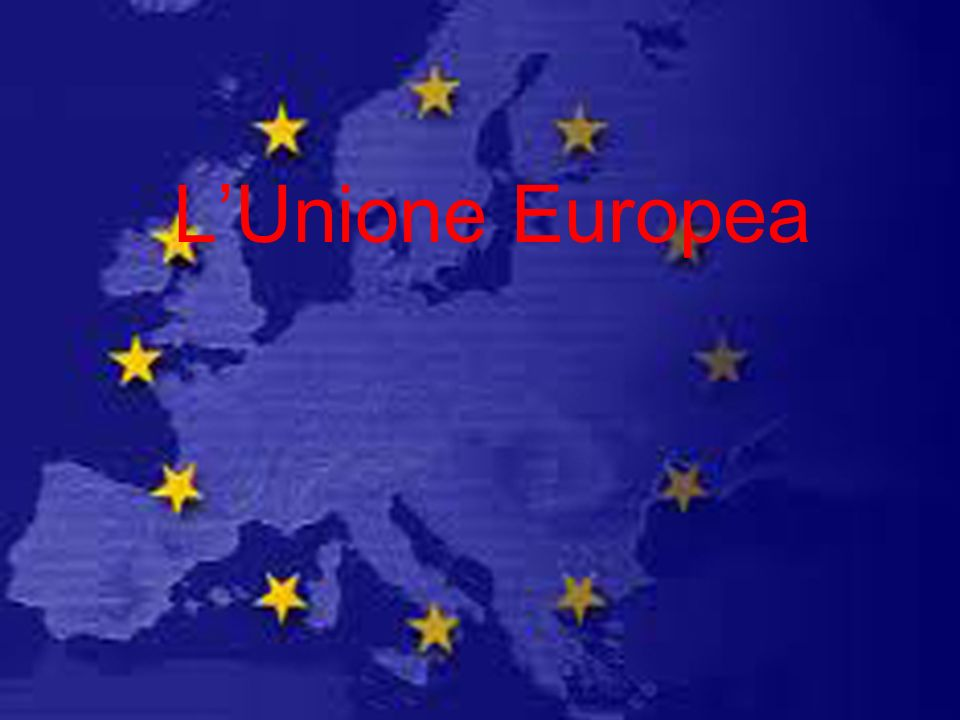 LUnione Europea