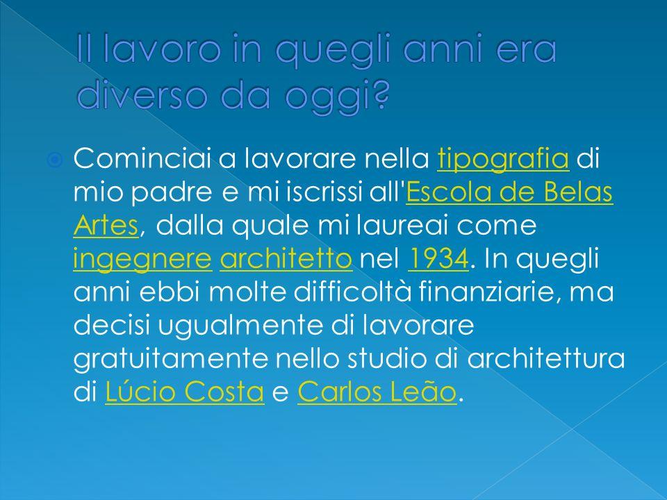 Si venni in Italia negli anni 70, e progettai la sede della casa editrice Arnoldo Mondadori Editore di Segrate alle porte di Milano.