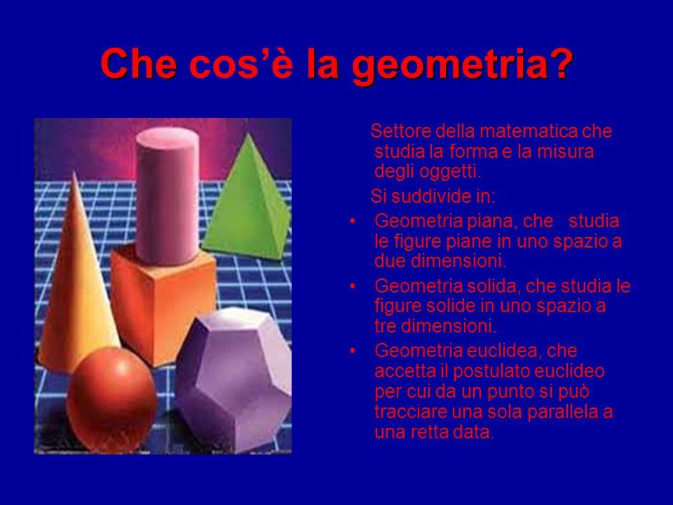 Il mio rapporto con la geometria è sempre stato di: ODIO AMORE