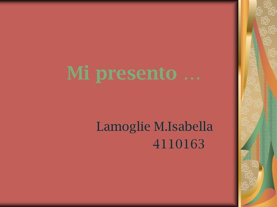 Questa sono io … Mi chiamo Isabella, sono nata il 24 Gennaio 1987 a Varese e vivo a Sumirago insieme alla mia famiglia.