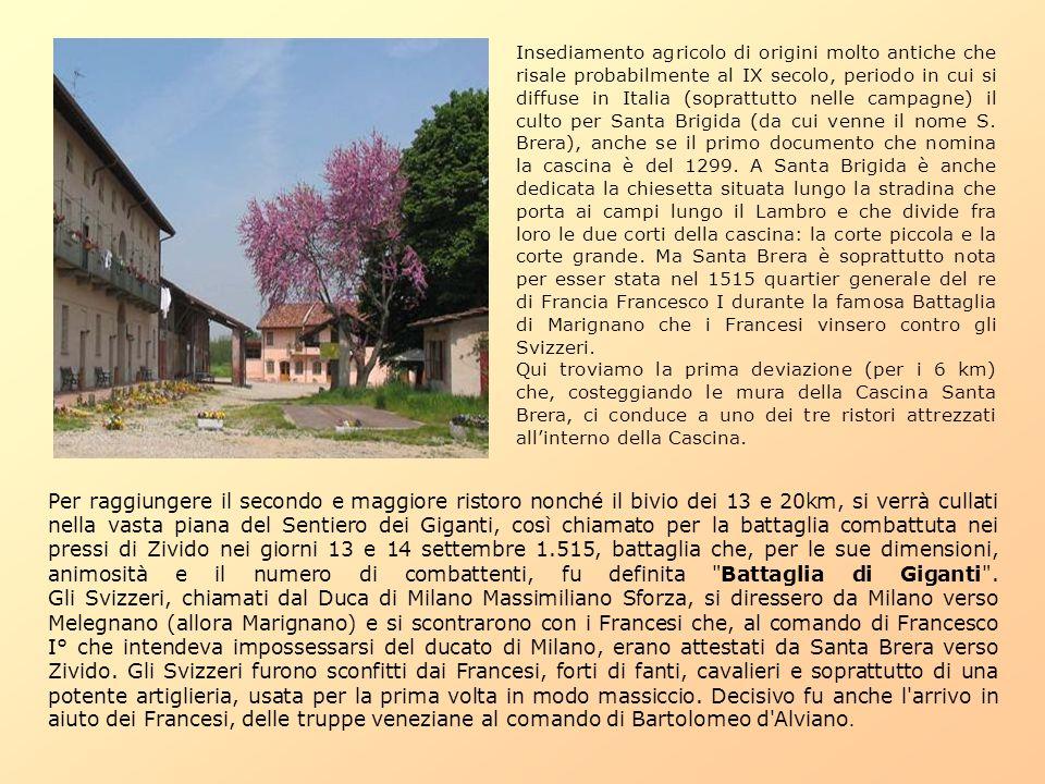 Insediamento agricolo di origini molto antiche che risale probabilmente al IX secolo, periodo in cui si diffuse in Italia (soprattutto nelle campagne)
