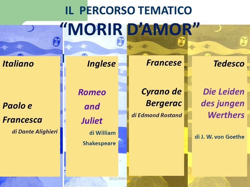 ROMEO AND JULIET di W.