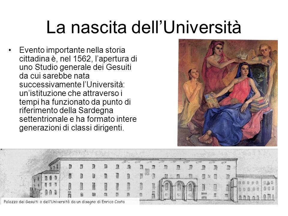 La nascita dellUniversità Evento importante nella storia cittadina è, nel 1562, lapertura di uno Studio generale dei Gesuiti da cui sarebbe nata succe