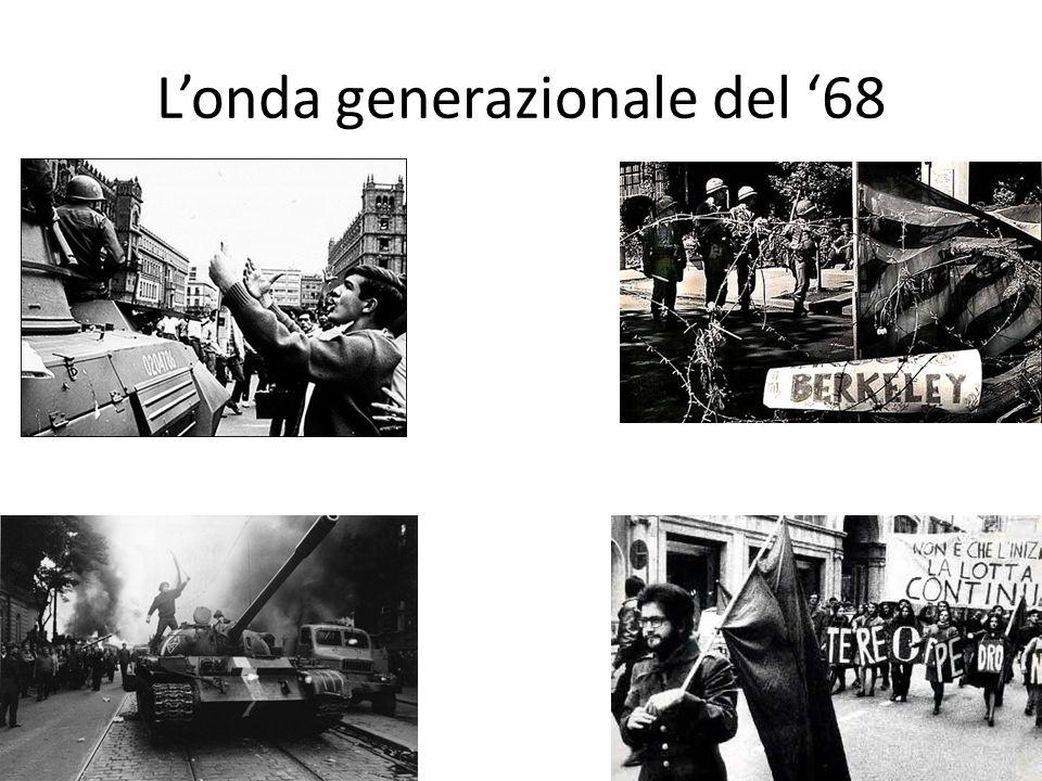 Londa generazionale del 68