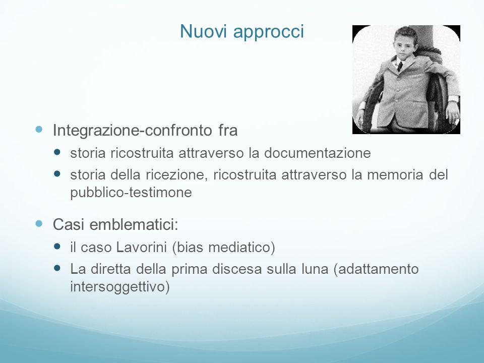 Nuovi approcci 2 Accostamenti omologici: distanze dietro lapparente vicinanza.