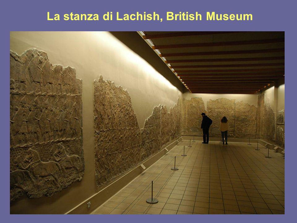 La stanza di Lachish, British Museum