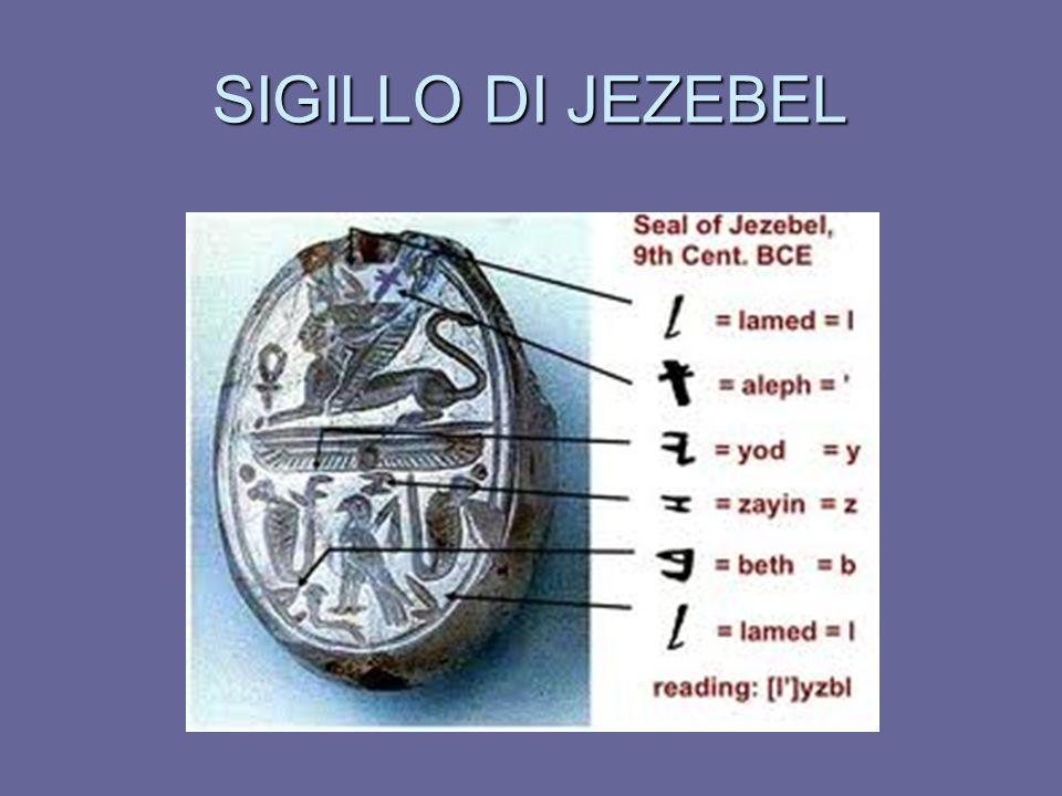 SIGILLO DI JEZEBEL