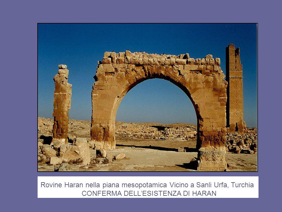 Rovine Haran nella piana mesopotamica Vicino a Sanli Urfa, Turchia CONFERMA DELLESISTENZA DI HARAN