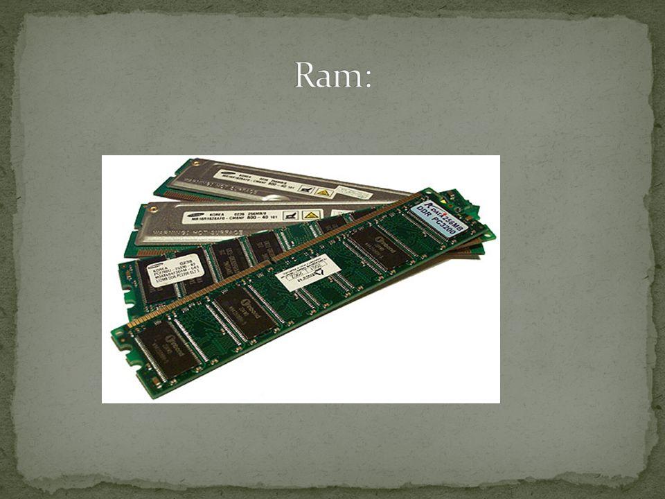 La memoria ad accesso casuale, acronimo RAM (del corrispondente termine inglese Random-Access Memory), è una tipologia di memoria informatica caratterizzata dal permettere l accesso diretto a qualunque indirizzo di memoria con lo stesso tempo di accesso.acronimoinglesememoria informaticaindirizzo di memoriatempo di accesso La memoria ad accesso casuale si contrappone alla memoria ad accesso sequenziale e alla memoria ad accesso diretto rispetto alle quali presenta tempi di accesso sensibilmente inferiori motivo per cui è utilizzata come memoria primaria.memoria ad accesso sequenzialememoria ad accesso direttomemoria primaria