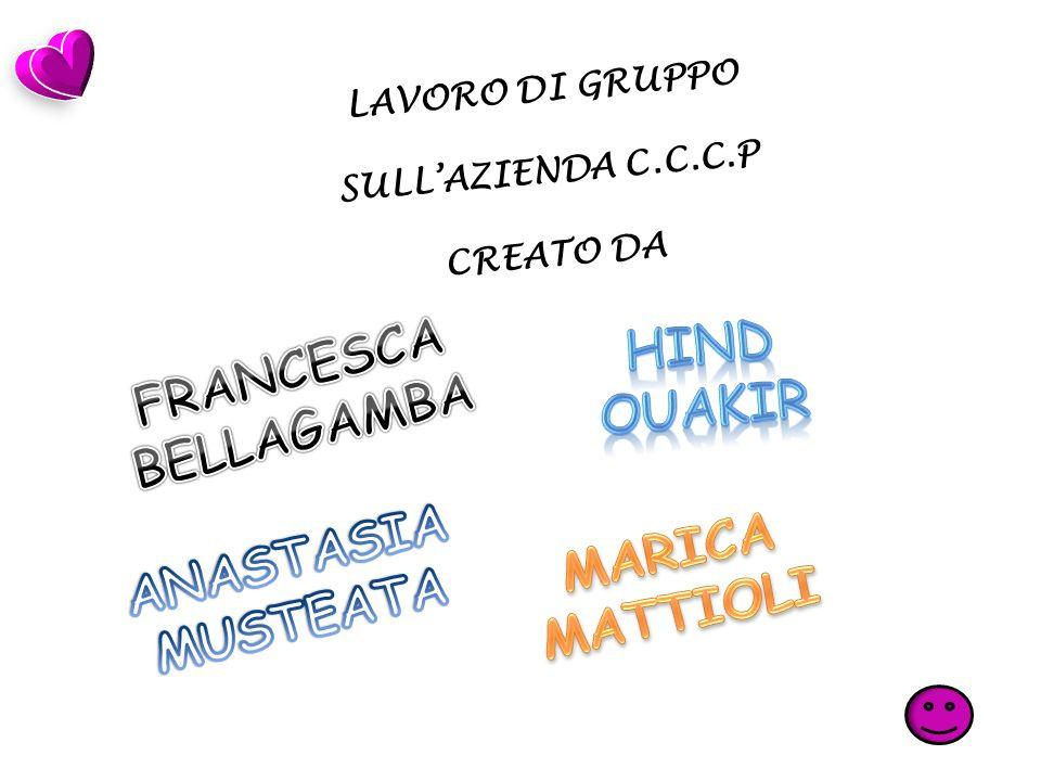 LAVORO DI GRUPPO SULLAZIENDA C.C.C.P CREATO DA