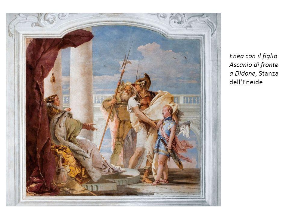 Enea con il figlio Ascanio di fronte a Didone, Stanza dellEneide