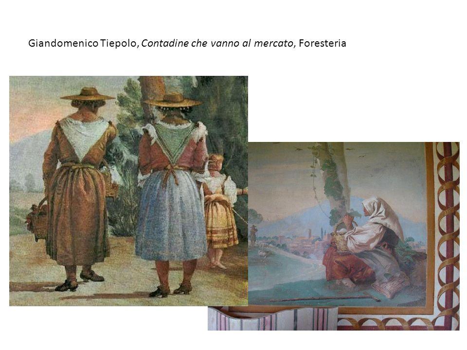 Giandomenico Tiepolo, Contadine che vanno al mercato, Foresteria