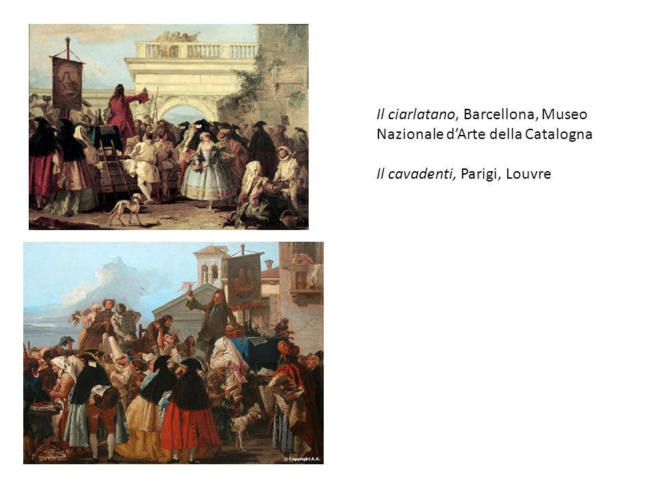 Il ciarlatano, Barcellona, Museo Nazionale dArte della Catalogna Il cavadenti, Parigi, Louvre