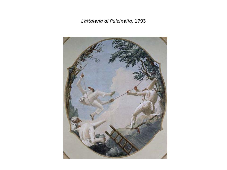 Laltalena di Pulcinella, 1793