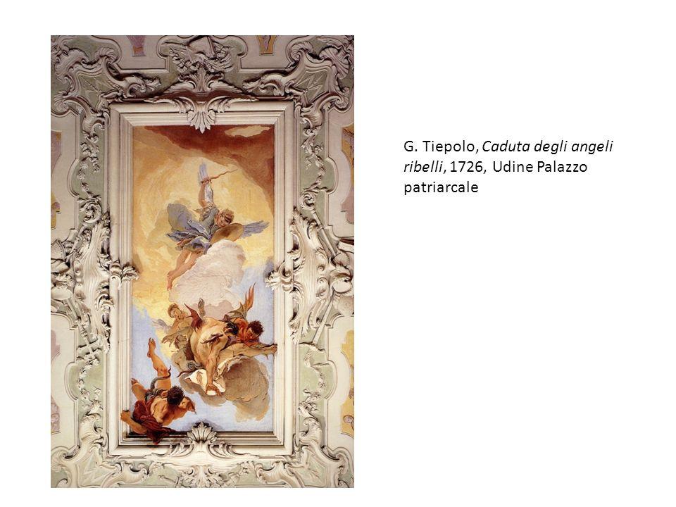 G. Tiepolo, Caduta degli angeli ribelli, 1726, Udine Palazzo patriarcale