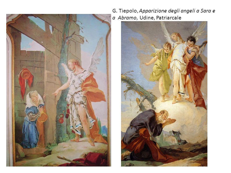 G. Tiepolo, Apparizione degli angeli a Sara e a Abramo, Udine, Patriarcale